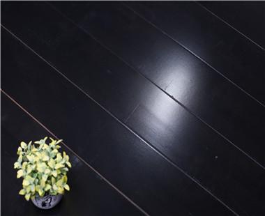 黑色舞台木地板