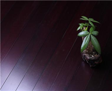 暗红色舞台木地板