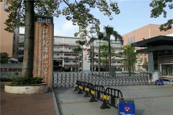 深圳市龙华区中心小学乒乓球室成功案例