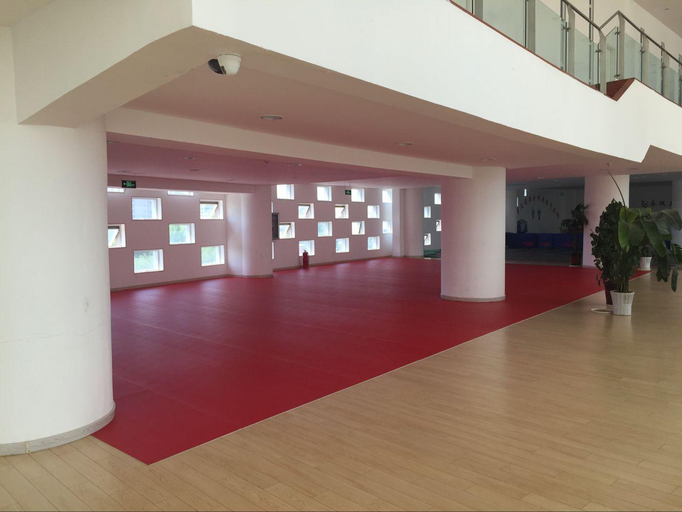 康巴什新区少年宫乒乓球地胶案例