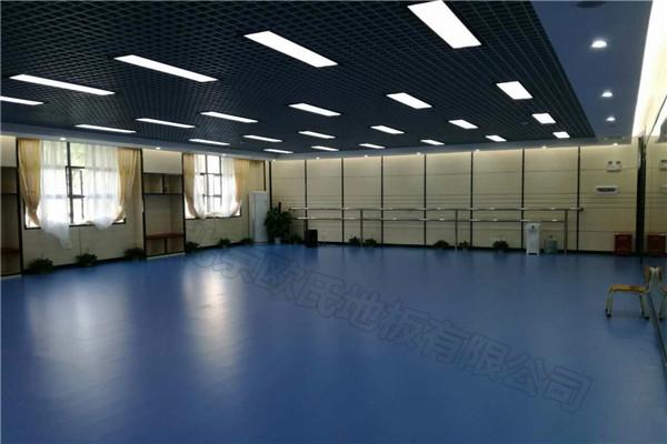 乒乓球地胶--深圳市龙华区中心小学乒乓球室成功案例