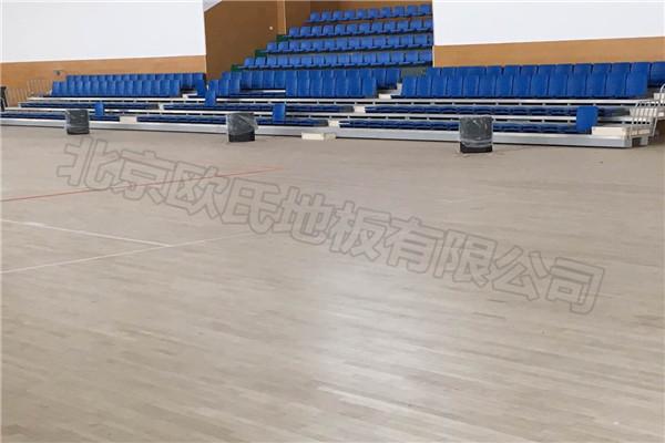 运动木地板--江苏镇江航空技术职业学院成功案例