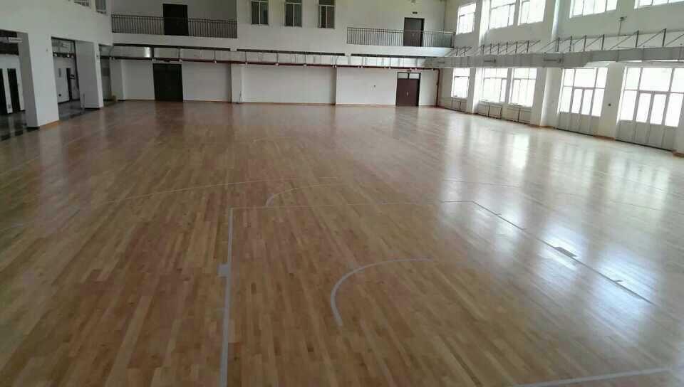 运动木地板--新疆阿克苏戒毒所成功案例