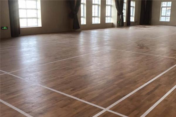 运动木地板--江苏省镇江市第六中学成功案例