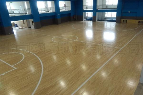 运动木地板--山西阳泉市城区行政审批服务中心成功案例