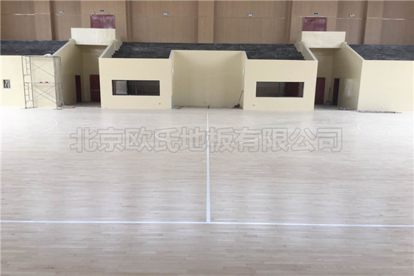 运动木地板--福州雷甸镇中心小学成功案例