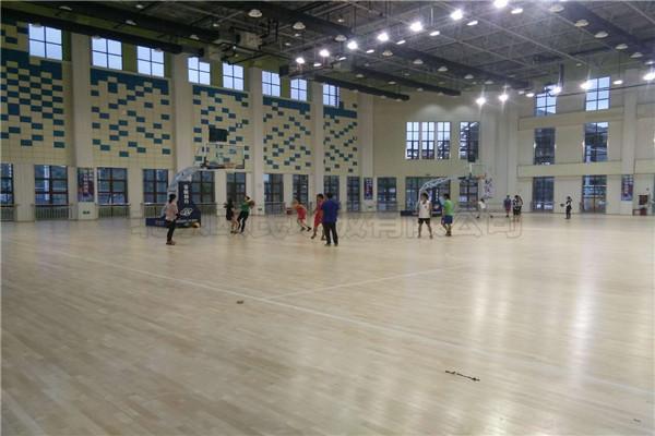 运动木地板--贵州省荔波体育馆成功案例