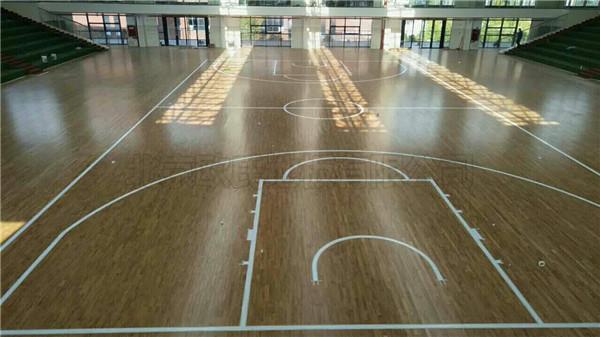运动木地板--贵州省遵义市习水县第一中学案例