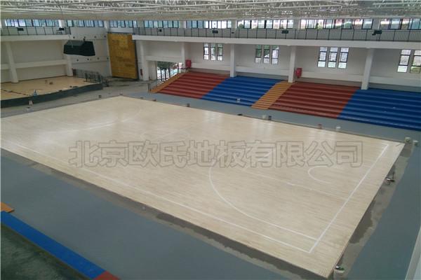 运动木地板贵州省毕节市织金县育才学校成功案例