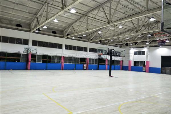 篮球馆木地板广东YBDL江门 HOOP PARK篮球公园