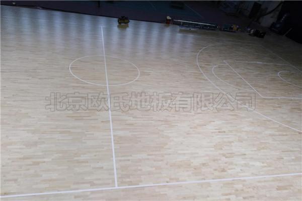运动木地板--北京房山区燕山体育馆成功案例