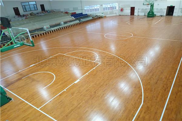 篮球木地板--新疆库尔勒国税局成功案例
