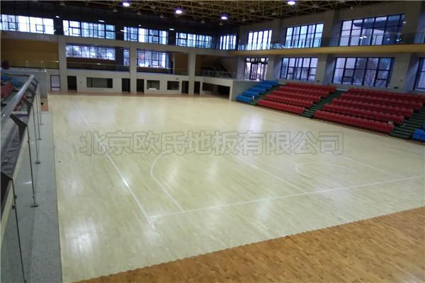 篮球木地板--河南郑州登封中工会
