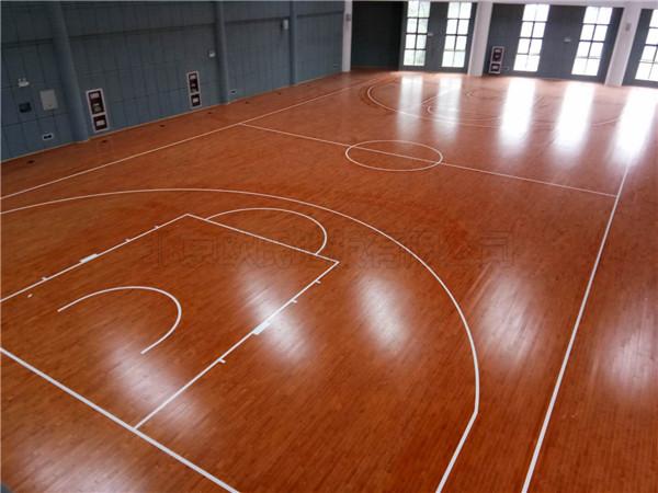 黄山市歙县体育馆篮球木地板