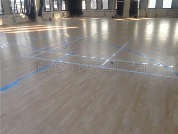 篮球木地板--北京大兴枣园天健广场5楼活动室